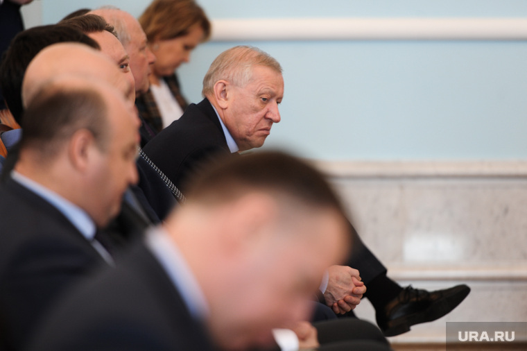 Представление врио губернатора Алексея Текслера полпредом Николаем Цукановым. Челябинск, тефтелев евгений