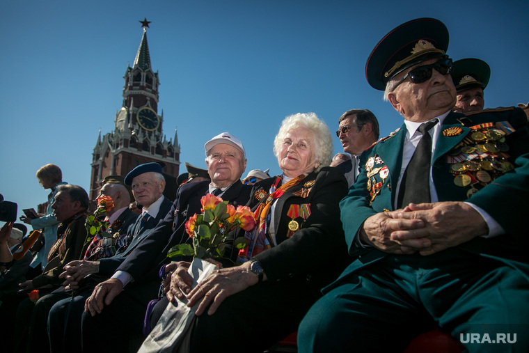 Парад Победы на Красной площади. Москва, ветеран войны, 9мая, парад победы, красная площадь