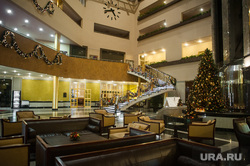 Новогодний интерьер в отелях Екатеринбурга