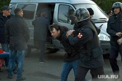 Протесты в сквере. Екатеринбург