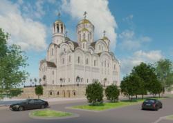 Храм святой Екатерины, эскизы