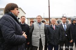Посещение набережной членами временной комиссии Совета Федерации. Тюмень