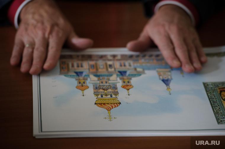 Интервью с архитектором Михаилом Голобородским - автор проекта эскиза Собора Святой Екатерины. Екатеринбург, эскиз храма на воде