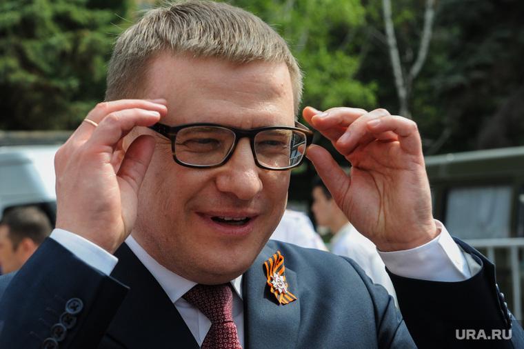 Празднование 9 мая. Челябинск, очки, портрет, текслер алексей