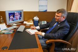 Прямая линия с Владимиром Путиным в Заксобрании Свердловской области. Екатеринбург