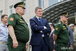 Замминистр обороны Тимур Иванов посетил Пермское суворовское военное училище. Пермь