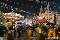 Новогодняя ярмарка на Красной Площади. Москва