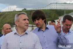 Рабочая поездка губернатора Александра Моора. Тобольск