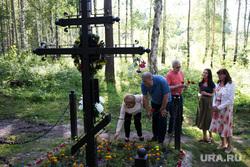 Визит Александра Авдонина на Мемориал Романовых. Екатеринбург