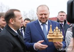 Визит полпреда Цуканова Николая и врио губернатора Шумкова Вадима в Далматовский монастырь. Шадринск