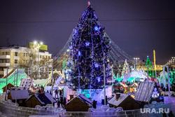 Открытие ледового городка на Площади 1905 года. Екатеринбург