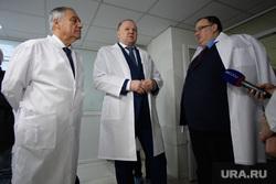 Николай Цуканов в Уральском институте кардиологии. Екатеринбург
