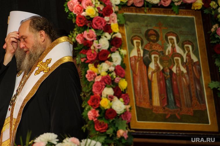 Царские дни в Екатеринбурге: божественная литургия и крестный ход, икона, семья николая II, царская семья, царские дни, литургия