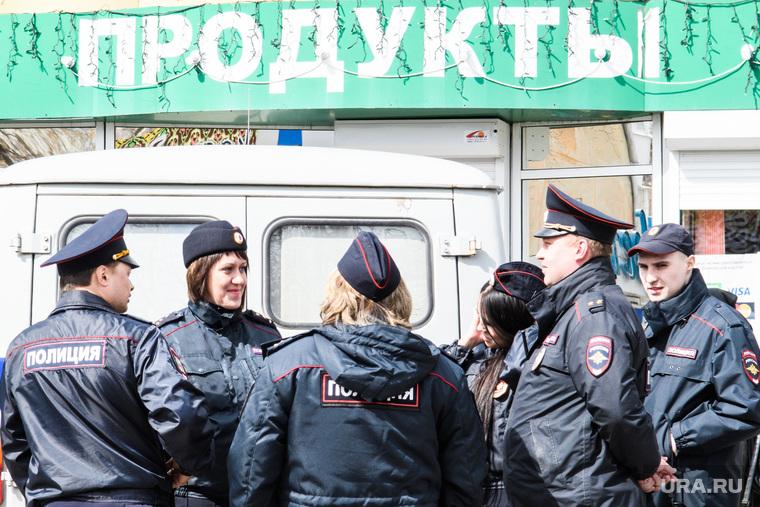 Монстрация на Вторчермете. Екатеринбург, продукты, полиция