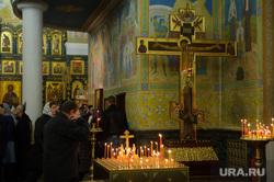 Пасхальная служба в Свято-Троицком кафедральном соборе. Екатеринбург