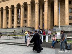 Последствия протестов в Грузии. Тбилиси