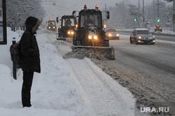 Снегопад. Челябинск
