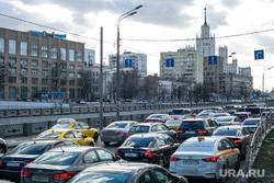 Пробки в городе. Москва