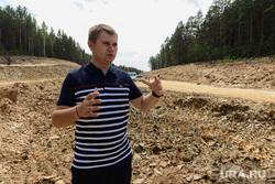 Строительство обводного канала реки Сак-Элга вокруг Карабаша. Челябинская область