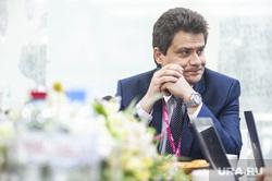 """Александр Высокинский на пресс-завтраке на """"Иннопроме-2019"""". Екатеринбург"""