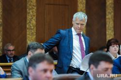 Согласование нового прокурора Челябинской области Виталия Лопина в Законодательном собрании. Челябинск