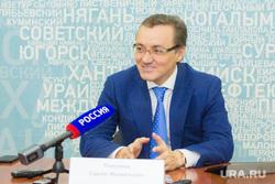 Пресс-конференция. Сергей Полукеев. Ханты-Мансийск.