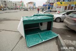 Первомайская демонстрация на проспекте Ленина. Сургут