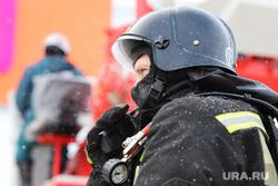 Пожарно-тактические учения МЧС на территории ТЦ ГиперСити. Курган