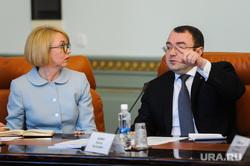 Совещание по национальным проектам с участием Николая Цуканова. Челябинск