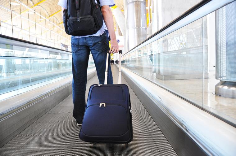 Клипарт depositphotos.com, путешествие, турист, отъезд, чемодан, поездка, отпуск, улетать, багаж