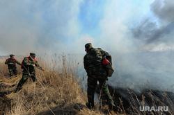 Учения МЧС по тушению лесных пожаров и сельскохозяйственных палов. Челябинск