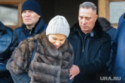 Похороны Вадима Соловьева, экс-губернатора Челябинской области. Челябинск