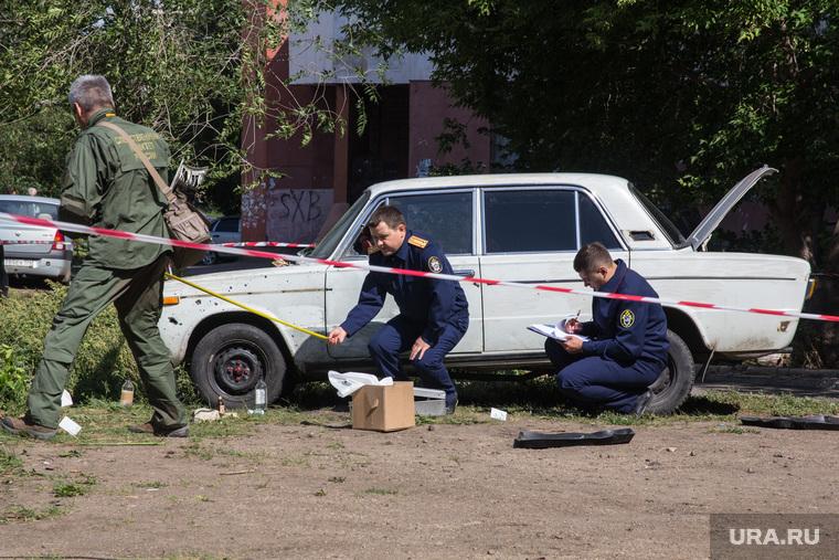 Взрыв во дворе дома № 51 на улице Советской Армии. Магнитогорск, взрыв, магнитогорск, ск