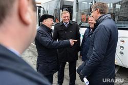 Вручение новых автобусов OOO «Общественный городской транспорт». Челябинск