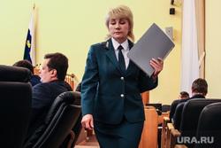Доклад начальницы УФНС по Тюменской области Тамары Зыковой на заседании областной думы. Тюмень