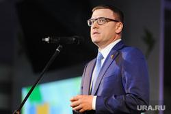 Алексей Текслер на торжественном приеме в честь Дня строителя. Челябинск