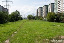 Парки и скверы Екатеринбурга, сквер в переулке Теплоходный