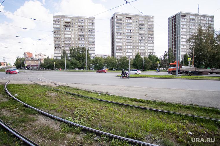 Парки и скверы Екатеринбурга, сквер на пересечении улиц Бебеля и Пехотинцев