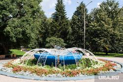 Парки и скверы Екатеринбурга, скверы с фонтаном возле площади Первой пятилетки
