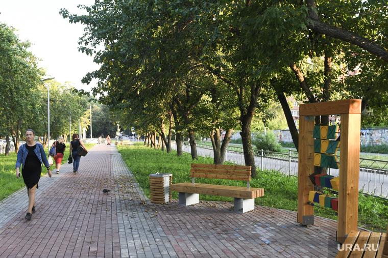 Парки и скверы Екатеринбурга, сквер в начале улицы Мира