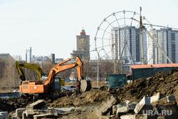 Строительство конгресс-холла на набережной реки Миасс к саммитам ШОС и БРИКС и апартаментов на улице Труда. Челябинск