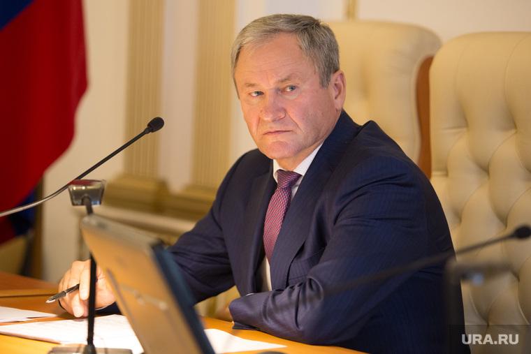 Заседание правительства области. Курган, кокорин алексей