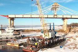 Руслан Байсаров: 2018 год, завершен первый этап строительства — построены почти на 170 метров мостового перехода