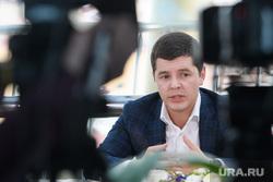 Встреча Дмитрия Артюхова с журналистами. Салехард