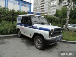 УАЗик полицейских которые изнасиловали проститутку