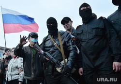 Ситуация на востоке Украины. Луганск. Захват здания МВД