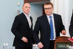 Представление врио губернатора Алексея Текслера полпредом Николаем Цукановым. Челябинск