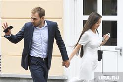 Антон и Луиза Шипулины перед вручением госнаград в резиденции губернатора. Екатеринбург