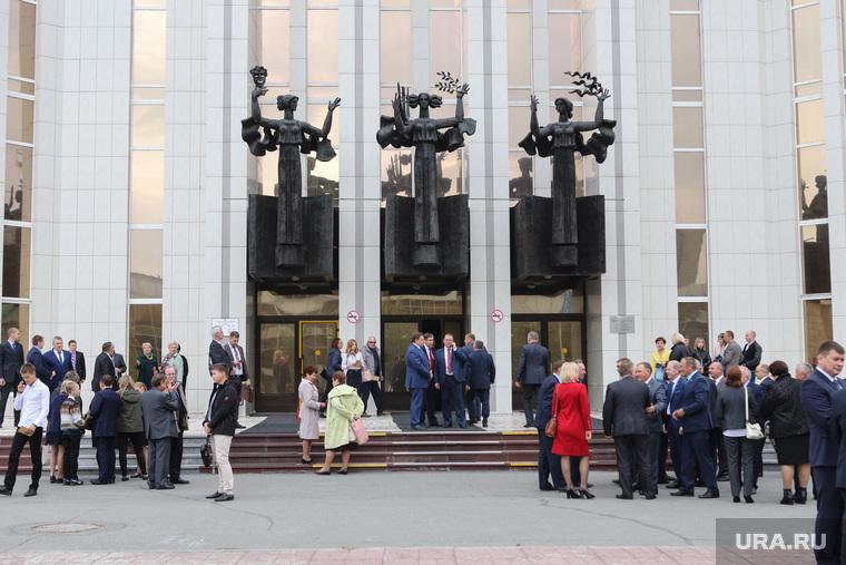 Инаугурация губернатора Вадима Шумкова. Курган
