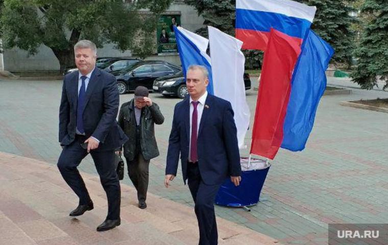 Гости на инаугурации губернатора Алексея Текслера, Челябинск